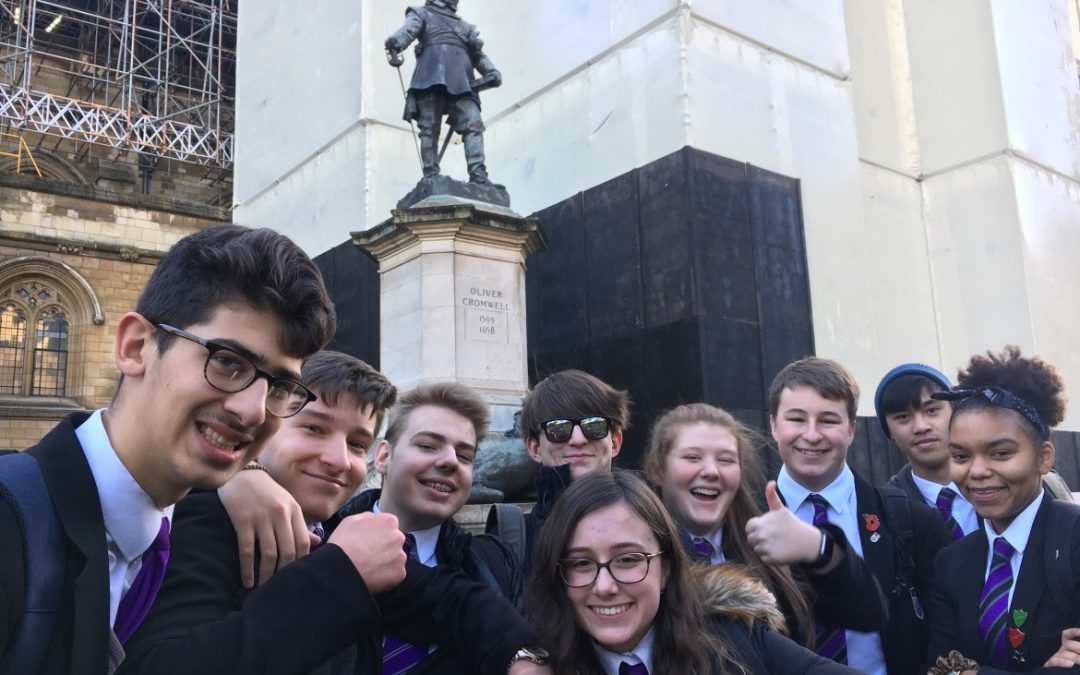 English-Speaking Union helps The Taunton Academy to House of Lords