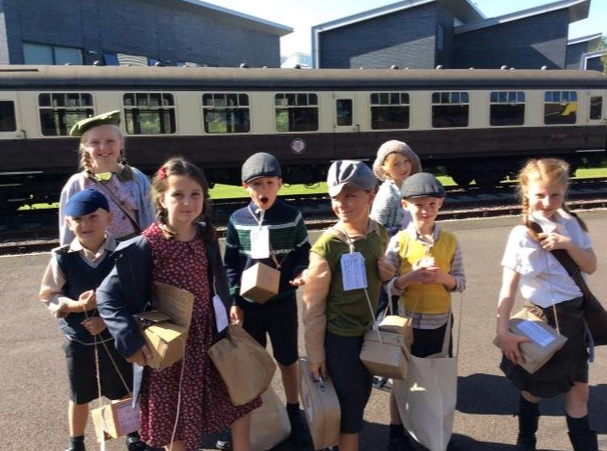 Evacuation Day at West Buckland Primary School