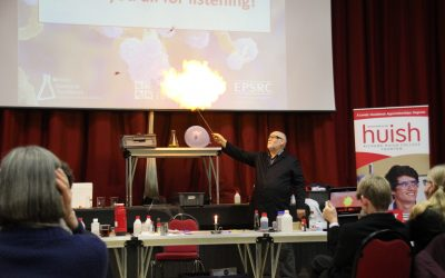 Huish Chemistry Conference goes off with a bang