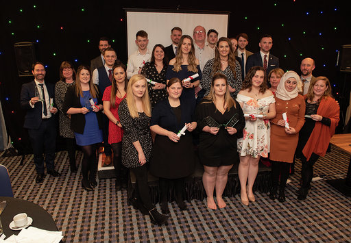 Finalists at the Grow Somerset Talent awards ceremony