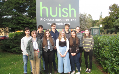 Ten Huish Students offered places at Oxford and Cambridge University
