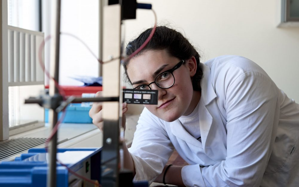 Huish students celebrate success in the National Senior Physics Challenge