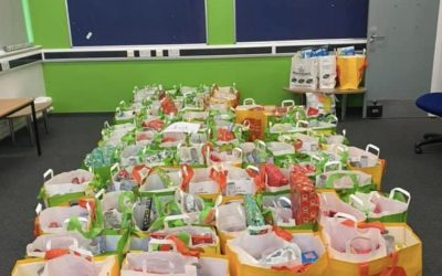The Taunton Academy Brings Christmas Cheer to Families