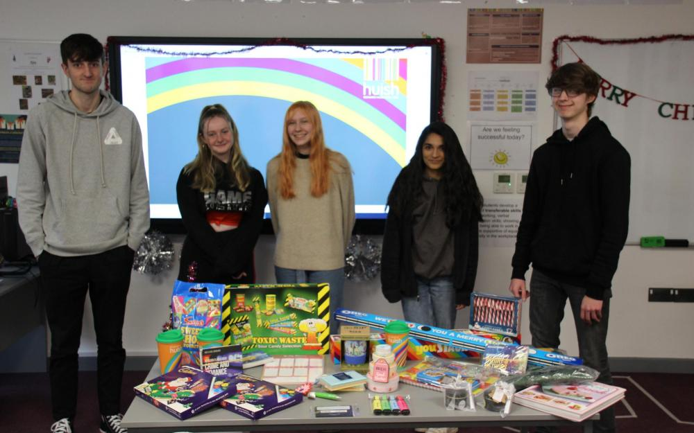 Richard Huish College Sociology students raise funds for ARC